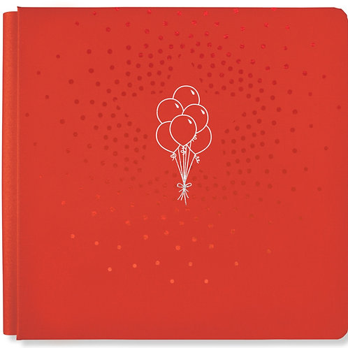 Party Time True Red 12x12 Album Cover