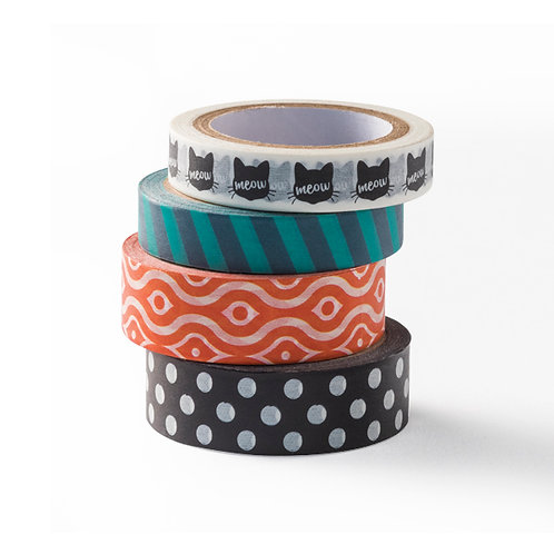 Toil and Trouble Washi Tape (4/pk)