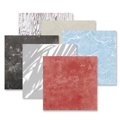 Seaside Texture Tone-on-Tone Paper Pack (12/pk)
