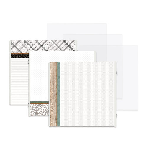 Homestead Fast2Fab™ 12x12 Refill Pages Protectors