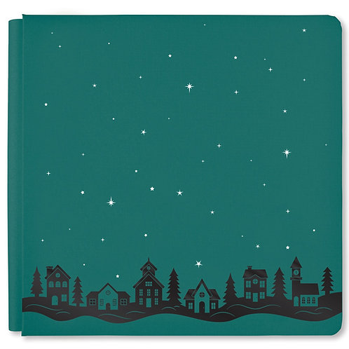 Christmas Spirit Hunter Green 12x12 Album Cover