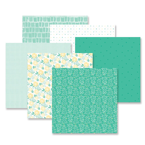 Blend & Bloom Green Paper Pack (12pk)