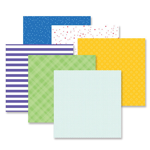 Fresh Fusion Cheerful Paper Pack (12/pk)
