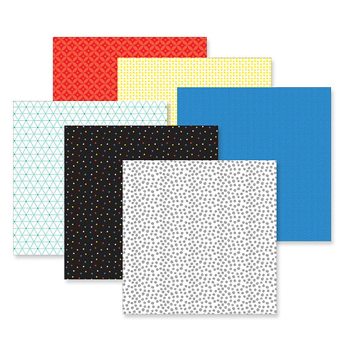 Essentials Tone on Tone Paper Pack (12/pk)