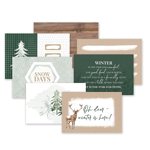 Winter Woods Variety Mat Pack