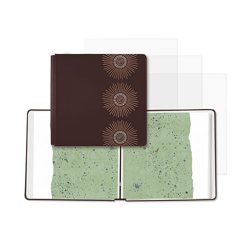 Natural Disposition Chocolate Green Fast2Fab™ 12x12 Album