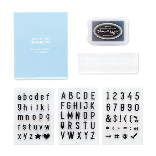 Alphabet Stamp Kit System
