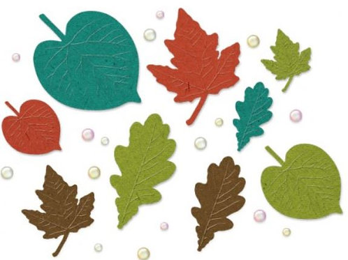Fall In Leaf Embellishments