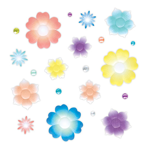 Rainbow Rush Flower Embellishments