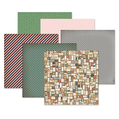 Gallivant 12x12 Paper Pack (12/pk)