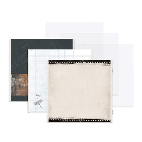 Memoirs and Memories 12x12 Fast2Fab™ Refill Pages and Protectors
