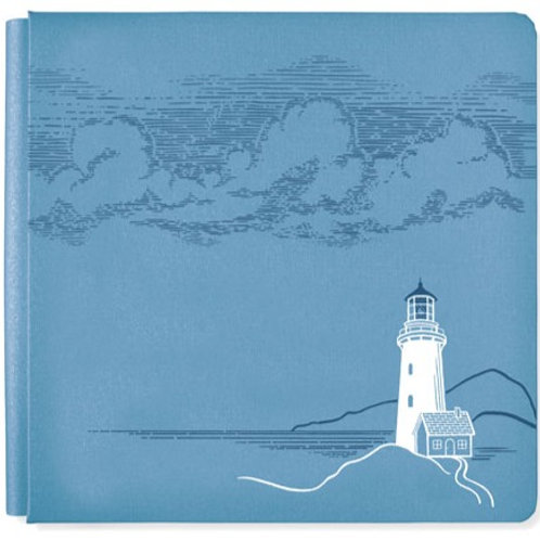 Deep Blue Sea Storm Blue 12x12 Album Cover