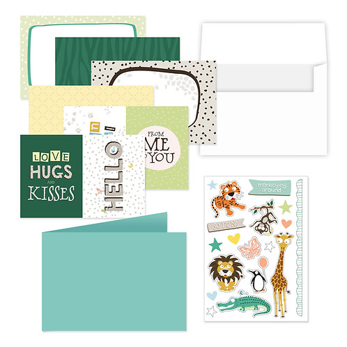 What A Zoo Flip Card Kit
