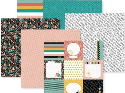 Be Bold & Flourish 12x12 Paper Pack (12/pk)