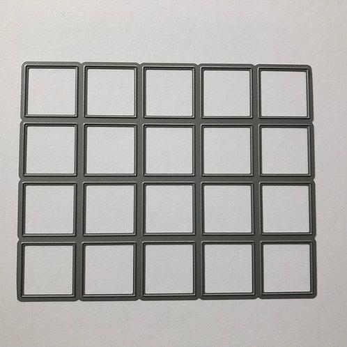20 Square Metal Die