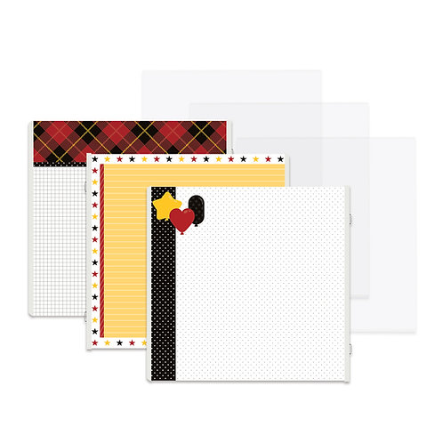 Magic Awaits Fast2Fab™ 12x12 Refill Pages and Protectors