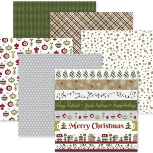 Christmas Joy 12x12 Paper Pack (12/pk)