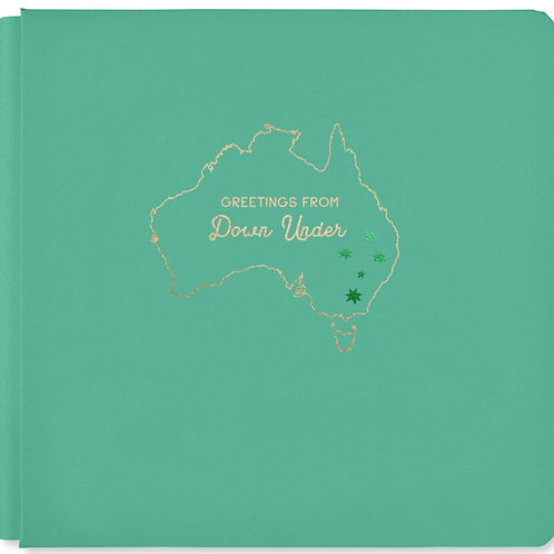 Aussie Adventure Jade 12x12 Album Cover - Pre-Order