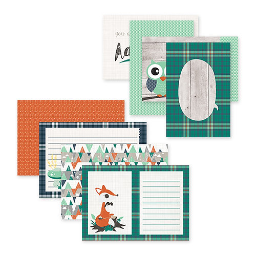 Woodland Whimsy Baby Boy Variety Mat Pack