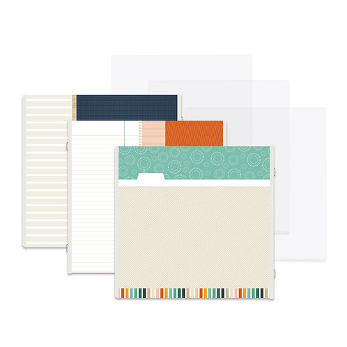 Staycation Fast2Fab™ 12x12 Refill Pages and Protectors