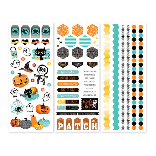 Toil and Trouble Stickers (3/pk)