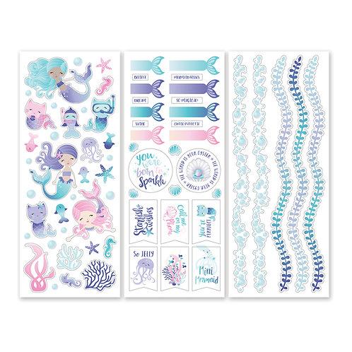 Mermaid Cove Stickers (3/pk)
