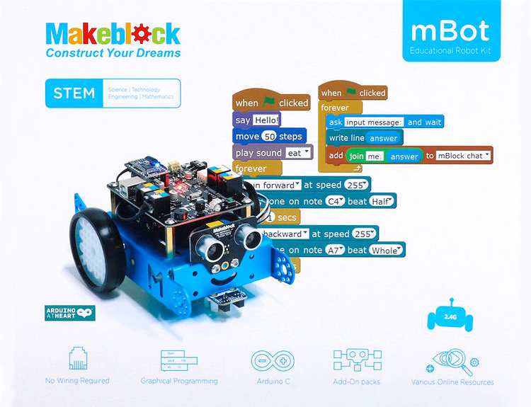 Robotic Coding with Mbot