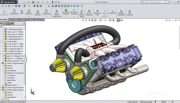 3D Design Solidworks