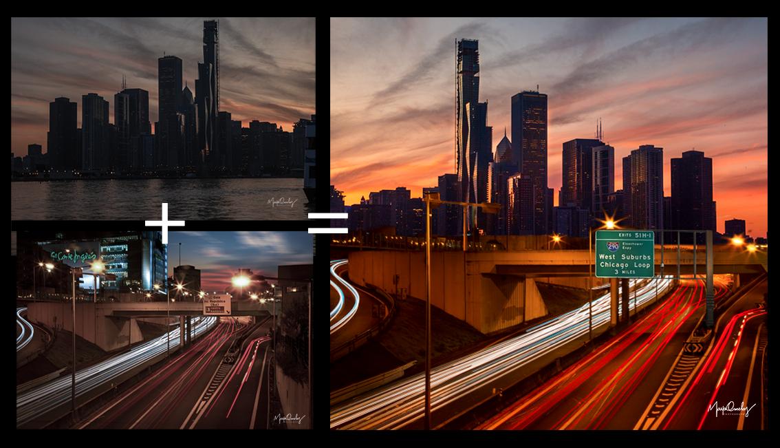 Antes e Depois Chicago e Gaia - Mayo Orn