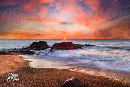 Fine Art Amazing Sky Sunset