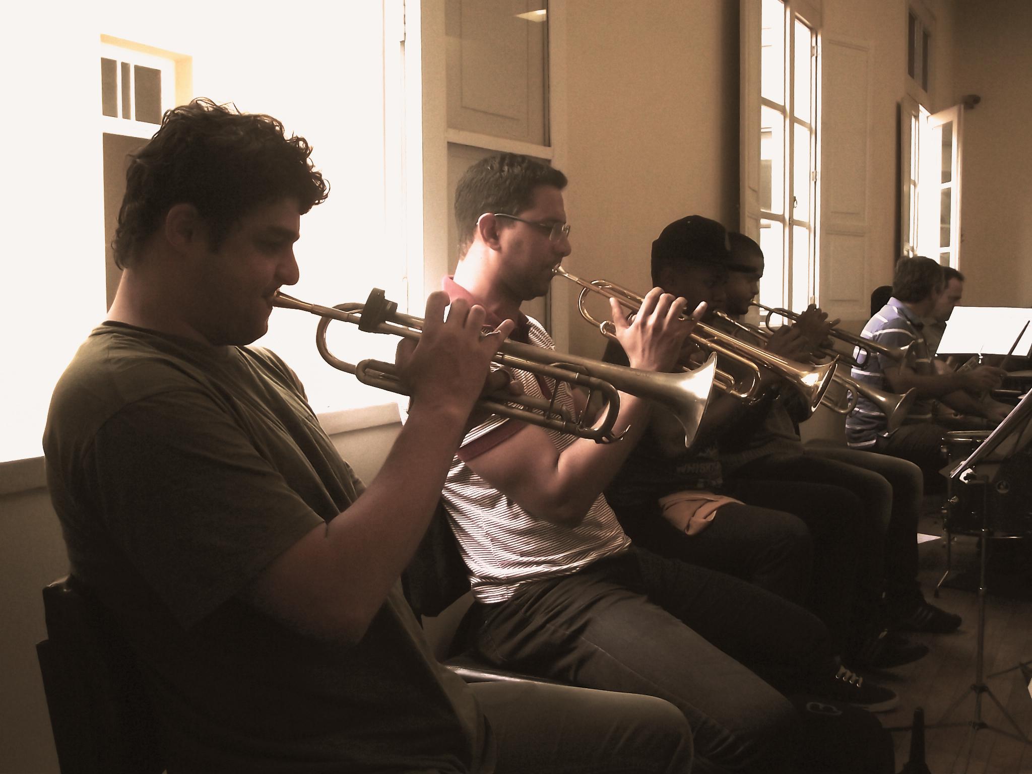Ensaio Jazz Mineiro Orquestra