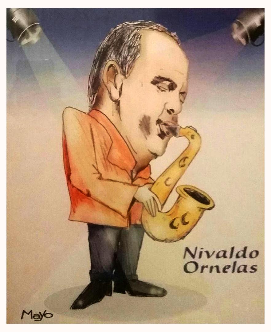 Caricatura Nivaldo