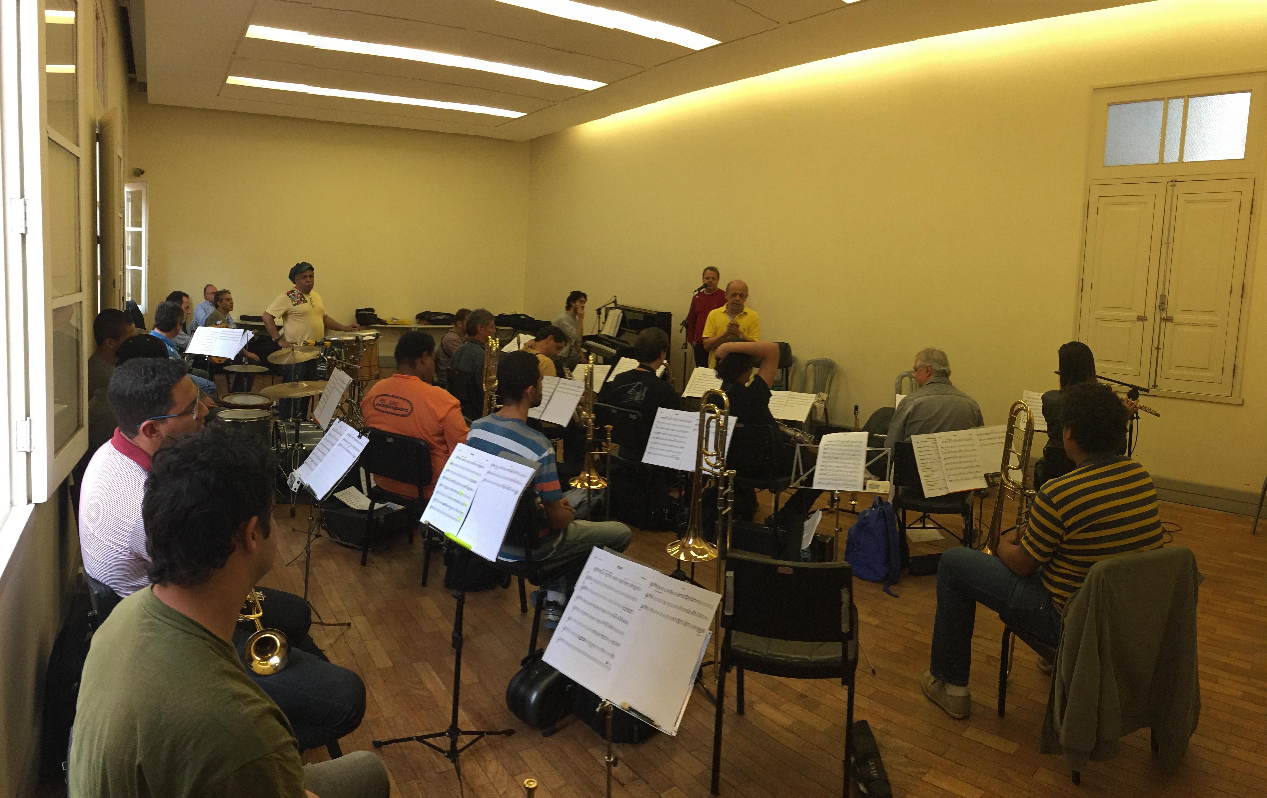 Ensaio Jazz Mineiro Orquestra 2015