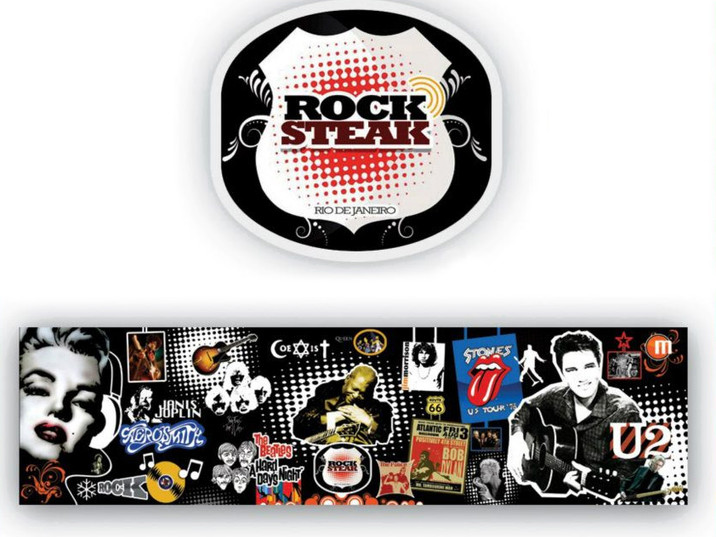 Logo Rock Steak