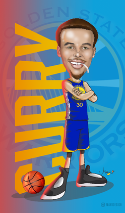 Curry Caricature