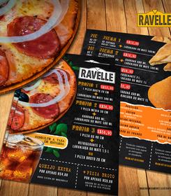 Menu / Flyer Ravelle
