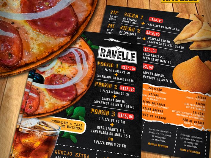 Cardápio/Flyer Ravelle