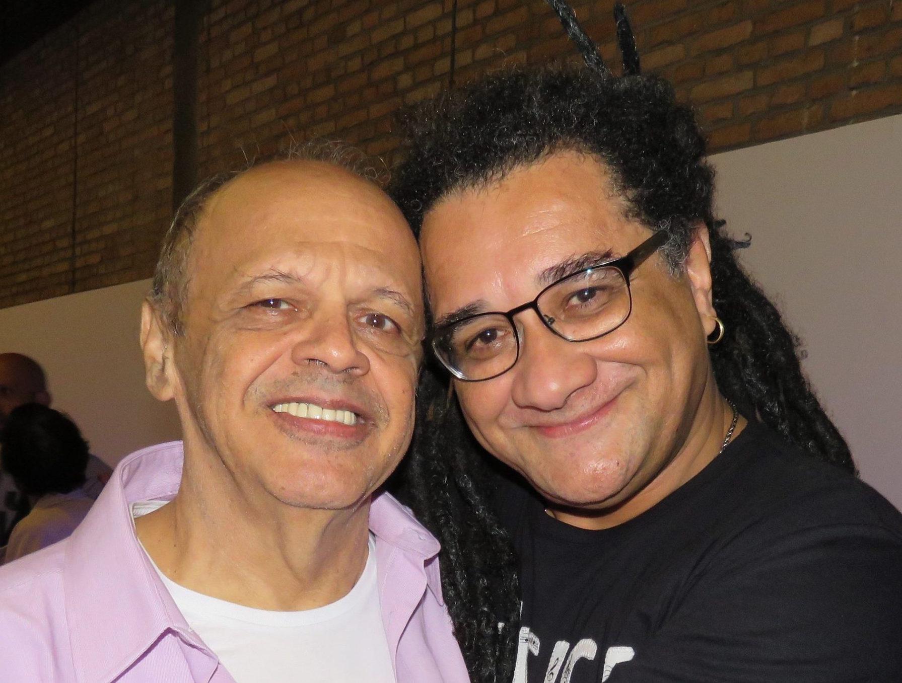 Com Roberto Salazar