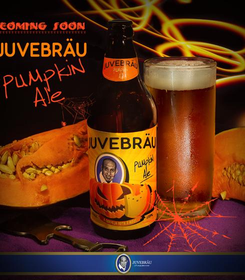 Label Juvebräu Pampink Ale