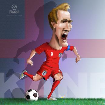 Kane England Caricatura