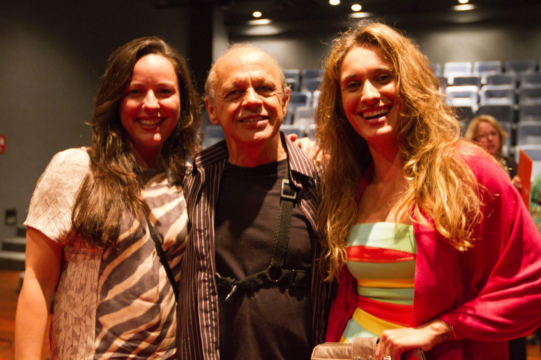 Com Dora Vergueiro e Carla Braga