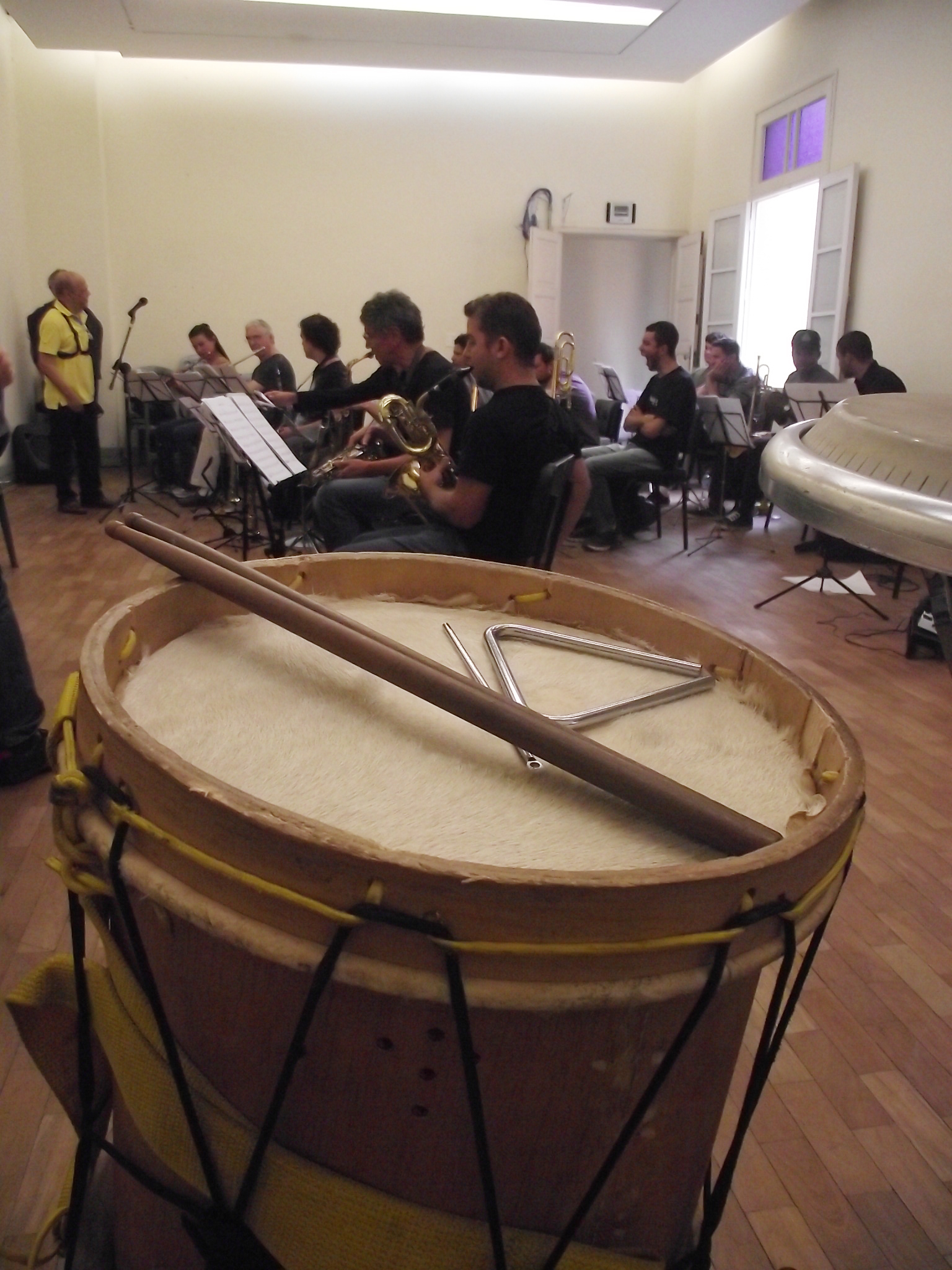 Ensaio Jazz Mineiro Orquestra -2015