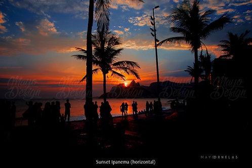 Impressão Fine Art 'Sunset Ipanema'