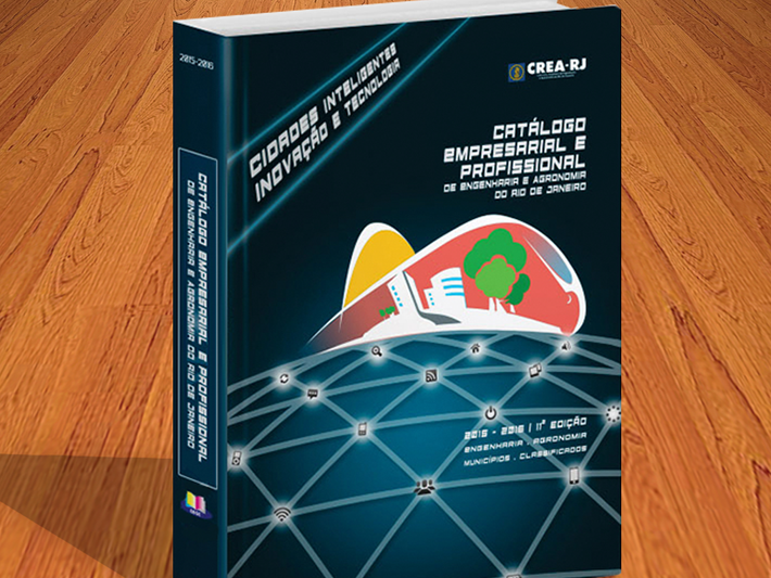 Projeto Gráfico Catalogo Crea-RJ 2016
