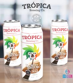 Rótulo Cerveja Tropica