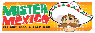 Mister Mexico Logo with Character