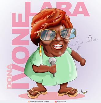 Caricatura DONA IVONE LARA