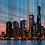 Thumbnail: Fine Art 'City Sunset Lights'