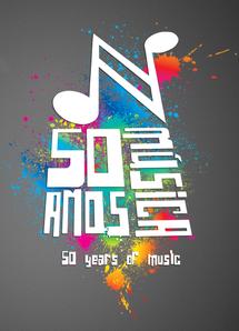 Logo Nivaldo 50 Years Music