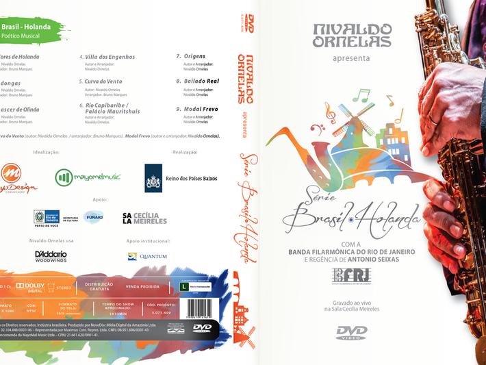 DVD Série Brasil-Holanda